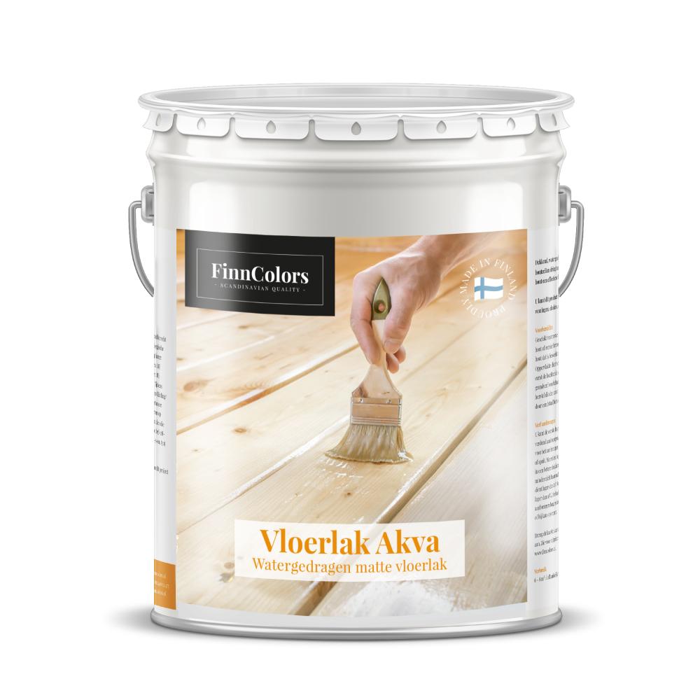 Vloerlak-akva-vloeren-Zeer duurzame en slijtvaste, watergedragen (acryl), eencomponent vloerenverf