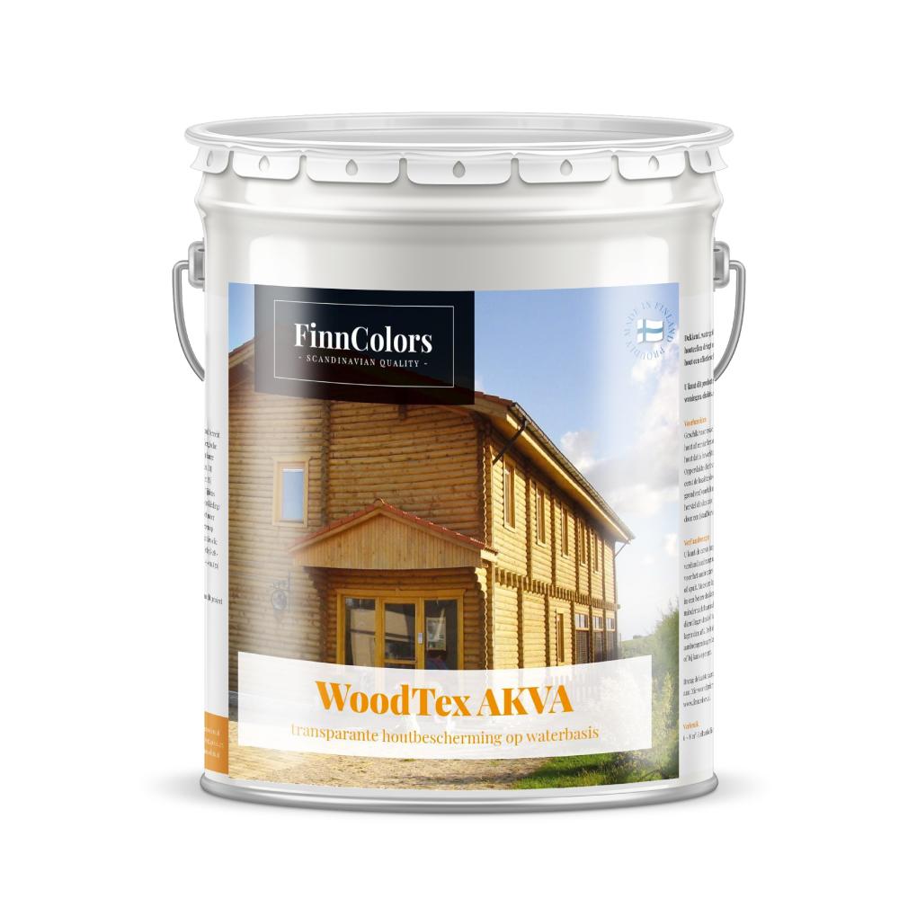 Woodtex akva Transparante, semi-matte watergedragen beits