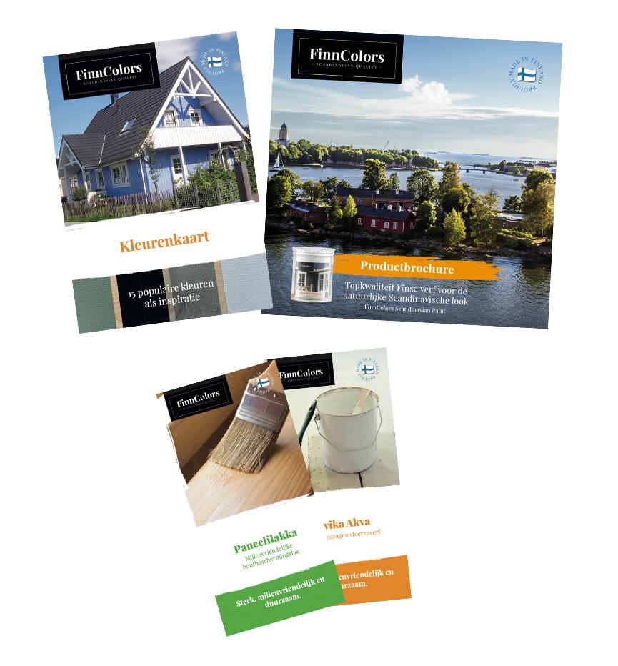 Brochure finncolors finse verf